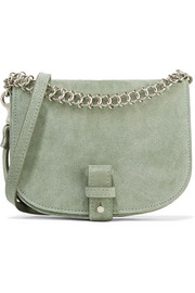 Saddle Up small suede shoulder bag