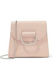D Tiny Box textured-leather shoulder bag
