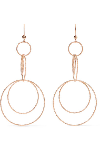 Carolina Bucci - Florentine 18-karat Rose Gold Earrings