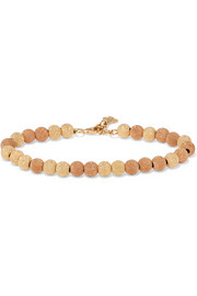 Carolina Bucci Florentine 18-karat yellow and rose gold bracelet