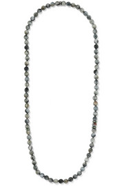 Carolina Bucci Recharmed 18-karat gold, eagle eye and tsavorite necklace