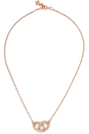 Carolina Bucci 1885 18-karat rose and white gold necklace