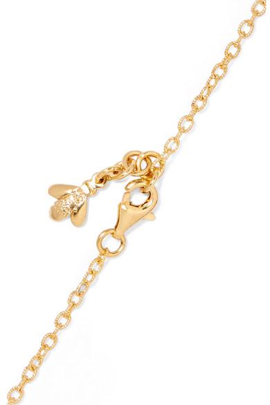 Golden Rule 18-karat Yellow And Rose Gold Necklace - one size Carolina Bucci c4IXBXk