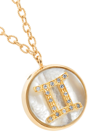 Golden Rule 18-karat Yellow And Rose Gold Necklace - one size Carolina Bucci TBWLLnp