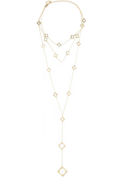 Gold-plated Choker - one size Arme De L'Amour