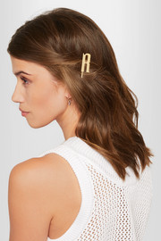Monno gold-plated hair slide