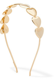 LELET NY Love Struck gold-plated headband