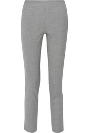 Michael Kors Collection Houndstooth stretch-wool blend skinny pants