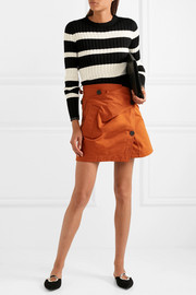 Proenza Schouler Striped wool, silk and cashmere-blend sweater