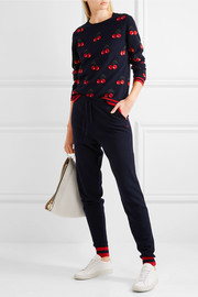 Chinti and Parker Cherry cashmere sweater