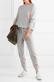 Chinti and Parker 3D Star cashmere track pants