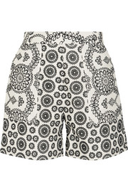 Cleary broderie anglaise cotton shorts