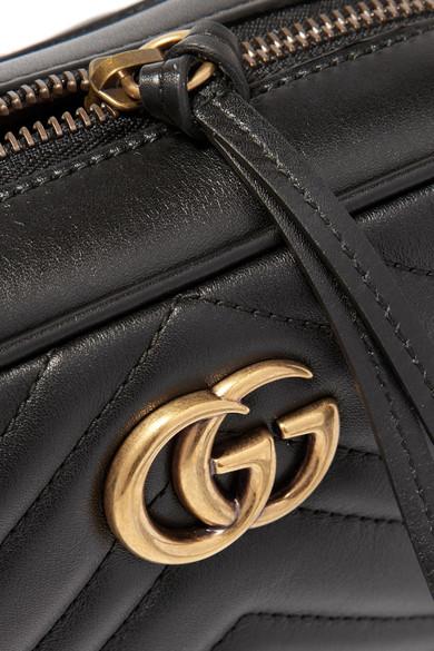 Gucci Shoulder GG Marmont Camera mini quilted leather shoulder bag
