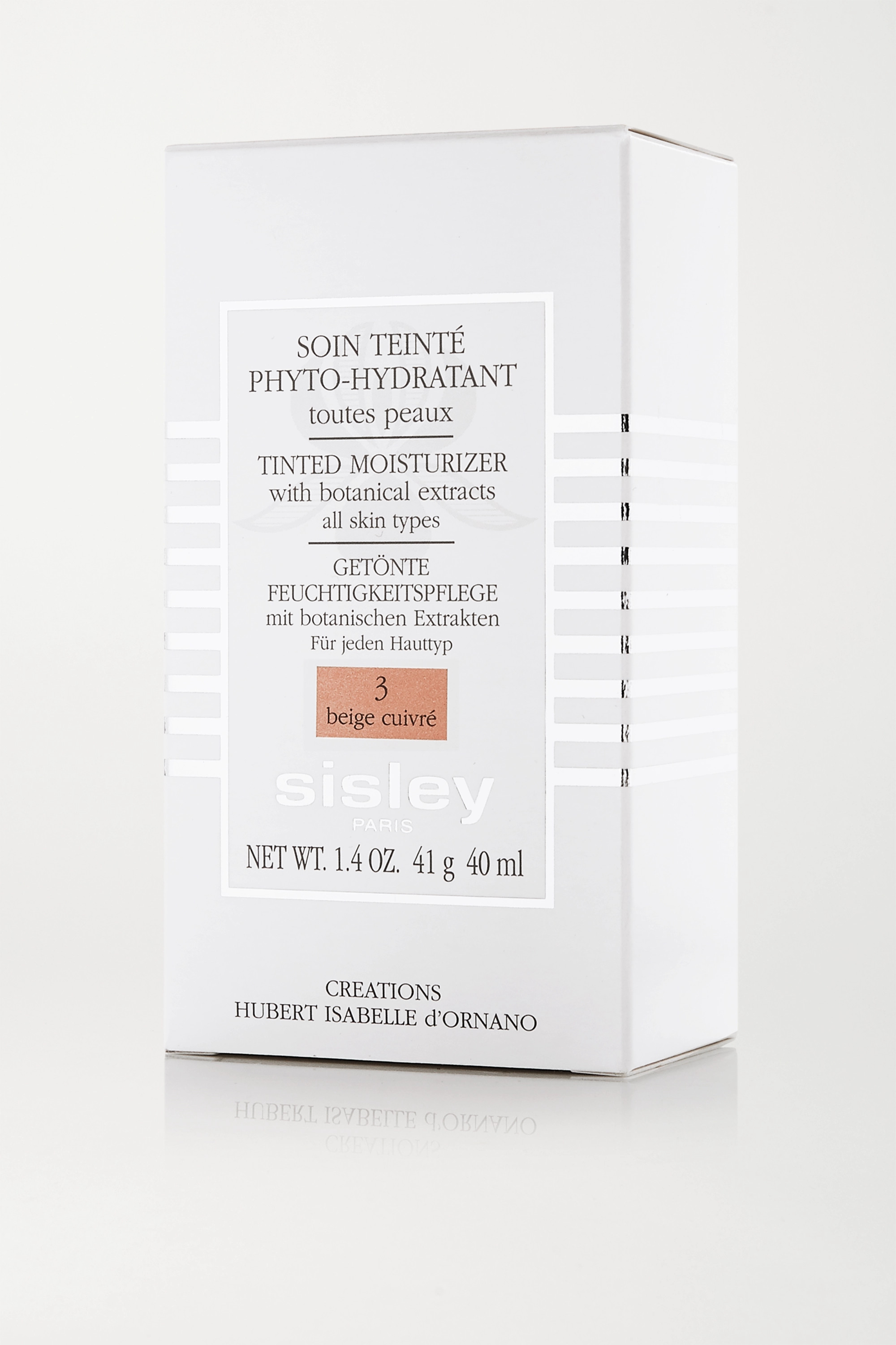 Sisley Tinted Moisturizer With Botanical Extracts - 3 Beige Cuivré, 40ml