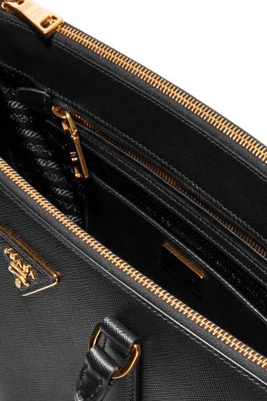 f275ba1c2e63 Galleria large textured-leather tote. £1