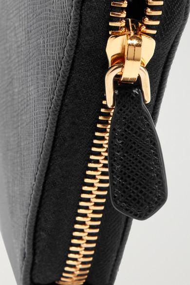 Prada Portemonnaie im europäischen Stil aus strukturiertem Leder