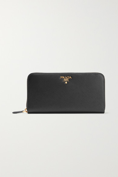 ad6342e8 Textured-leather continental wallet