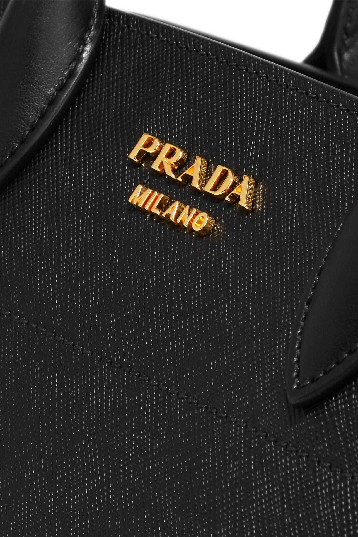 Prada Driade textured-leather tote