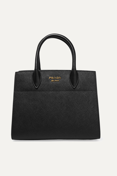 Prada - Driade Textured-leather Tote - Black at NET-A-PORTER