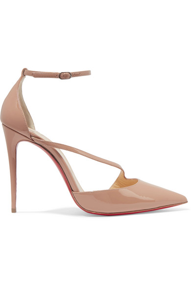 Christian Louboutin Pumps Fliketta 100 From Patent Leather