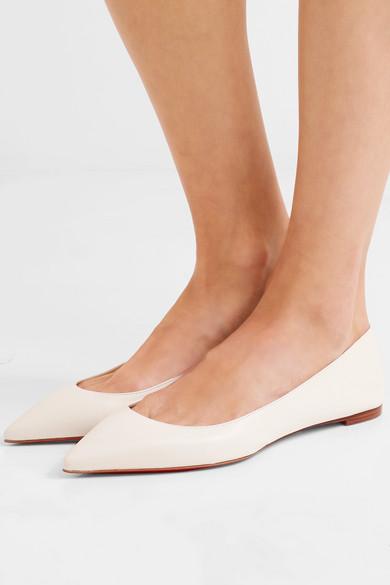 pretty nice 1d400 b5d6d Ballalla leather point-toe flats