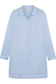 Heidi Klein St Barths cotton-chambray shirt