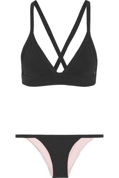 Heidi Klein Wendbares Triangel-Bikini-Oberteil