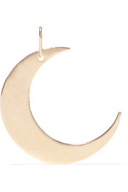 You Are My Moon and Stars 14-karat gold charm