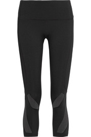 Performance cropped stretch leggings