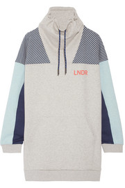 Noodie printed cotton-blend jersey sweatshirt