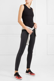 Stretch-knit leggings