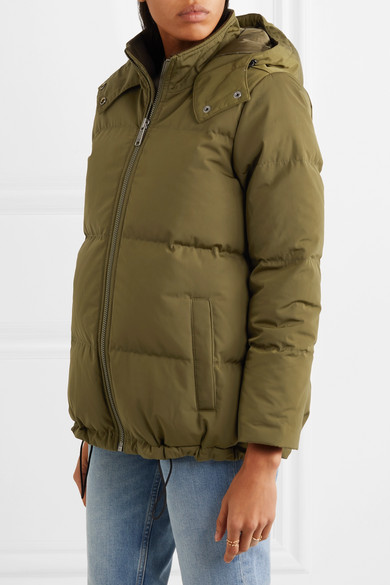 c6eab99ba18 Hooded quilted shell down jacket