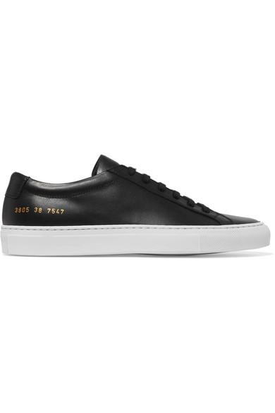 Common Projects Original Achilles Sneakers aus Leder Billig Verkauf Heißen Verkauf UpocY5