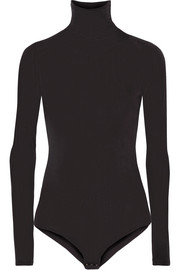 Tuxe Bodywear The Rebel stretch-jersey turtleneck bodysuit