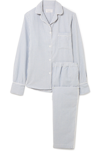 Printed Cotton-flannel Pajama Set - White Three J NYC Fashionable Sale Online Free Shipping 100% Authentic Best Store To Get Sale Online Visit New With Paypal Sale Online hDIUZp