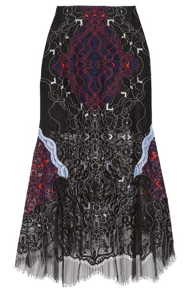 Lace Midi Skirt JS