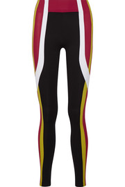 Kina color-block stretch leggings