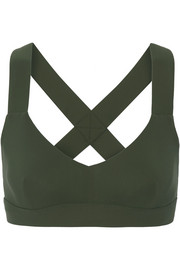 Ola reversible stretch sports bra