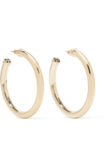Gold-plated Earrings - one size Kenneth Jay Lane vuqWxU