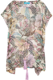 Matthew Williamson Kantuta Valley printed silk-chiffon coverup