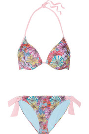 Matthew Williamson Bolivian Bloom printed underwired bikini