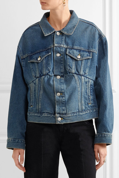 Swing Denim Jacket How To Wear A Cropped Denim Jacket For
