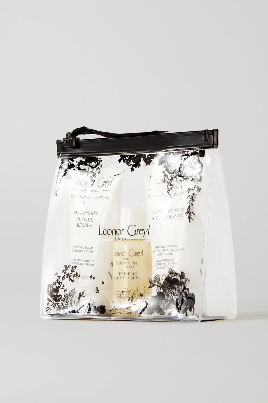 Leonor Greyl Paris Travel Kit For Volume – Reiseset für das Haar