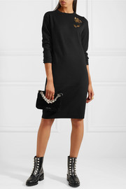 Markus Lupfer Nora embellished wool dress