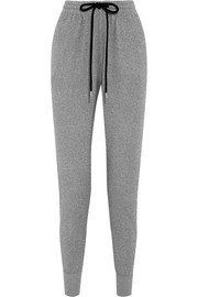 Markus Lupfer Metallic cotton-blend track pants