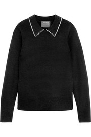 Markus Lupfer Lucie studded wool sweater