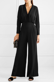 Emilia Wickstead Sally-Anny crepe jumpsuit