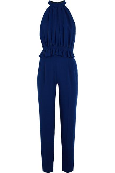 a34188c3a4 Emilia Wickstead. Everette wool-crepe jumpsuit