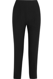 Emilia Wickstead Arabella wool-crepe slim-leg pants