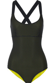 Teddy reversible perforated swimsuit